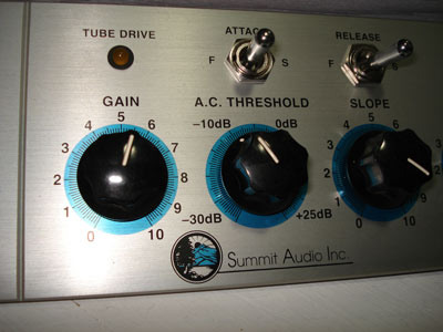 Summit Audio MPC-100A (Tube preamp/compressor/limiter) from LSstudio