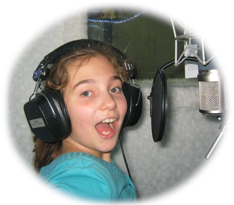 Запись песни ребёнка на LSstudio