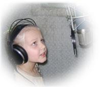 Запись песни ребёнка в  LSstudio