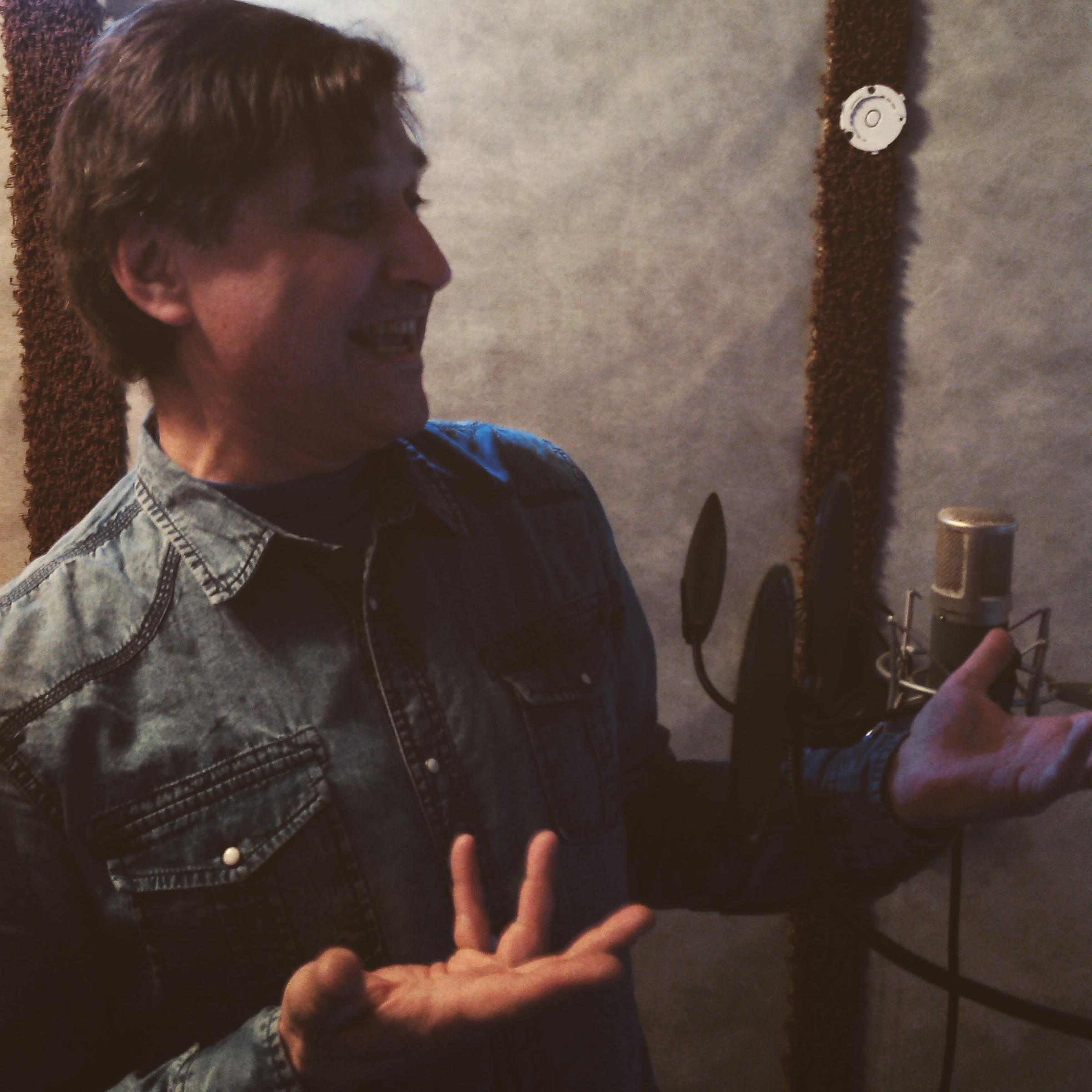 Запись песни на студии LSStudio