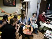Запись коллективной песни на студии LSStudio (Москва)